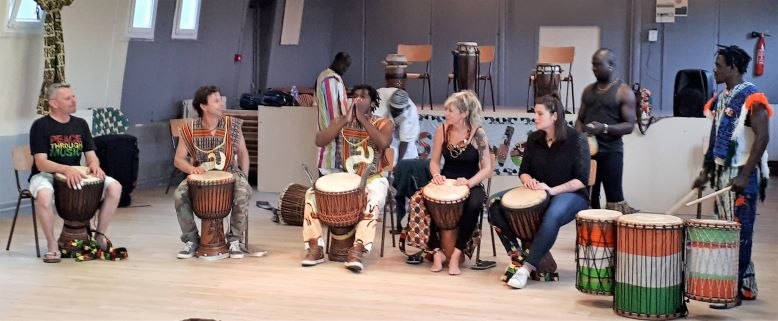 Photo djembe cours 4